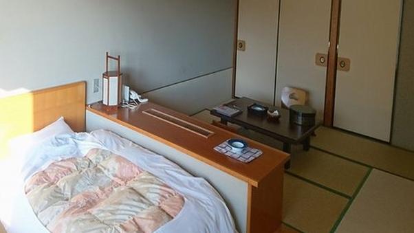 【東館】緑翠亭(コンパクトな6畳客室) ◎朝食のみ
