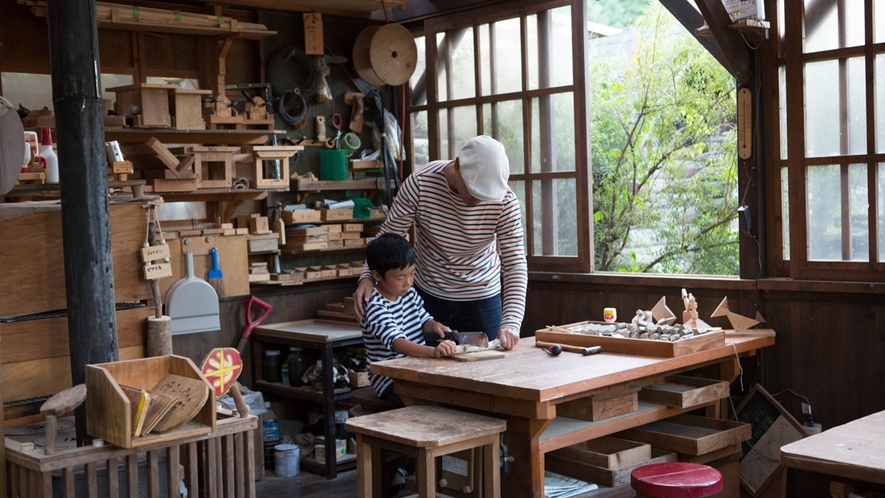 *木工体験/工具を使って、自分だけの作品を作りませんか?