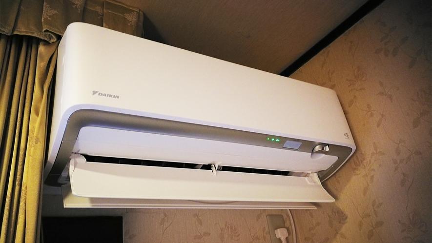 *コロナ対策一例/お部屋には換気機能を持った「ダイキンの空調」を導入しています。