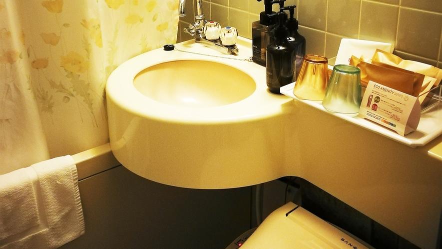 *部屋一例/お部屋には専用のバス・トイレ・洗面所が付いています。