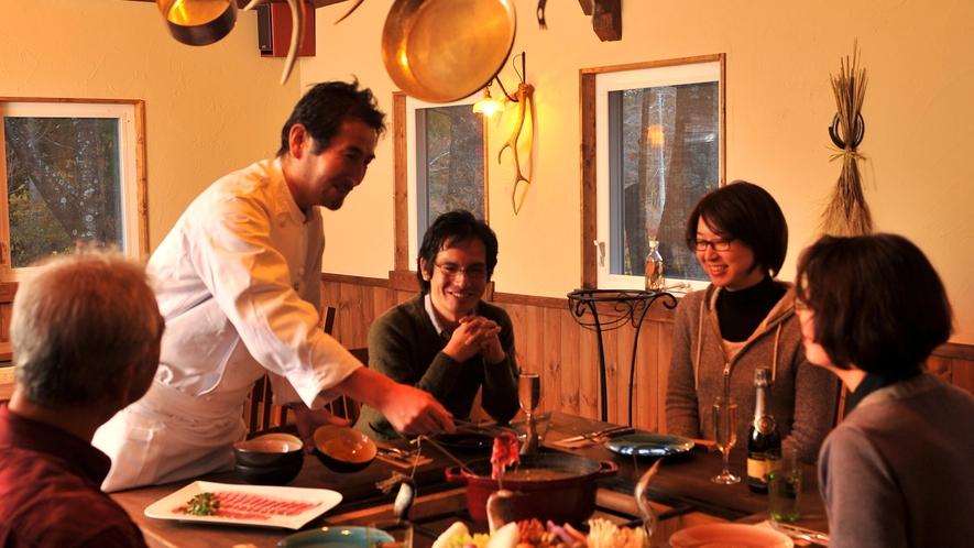 *食事イメージ/ル・マリアージュで楽しいひとときをお過ごしください。