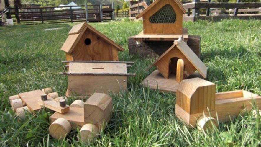 *手づくり体験/敷地内の工房で木工はいかがでしょうか?