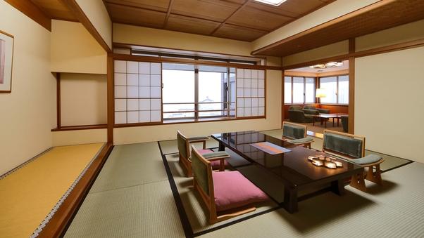 諏訪湖を見渡すゆとりの特別室(11階◆禁煙)