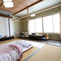 *【和室10畳(一例)】ゆった~りとしたお部屋でおくつろぎください♪