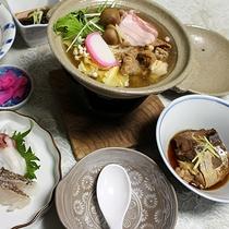 *【夕食(一例)】ビジネスプランの方にもご満足いただける夕食をご用意しております!