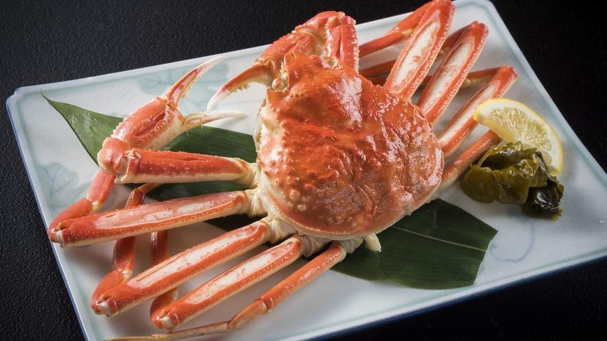 ジューシーな蟹をまるごと味わってください