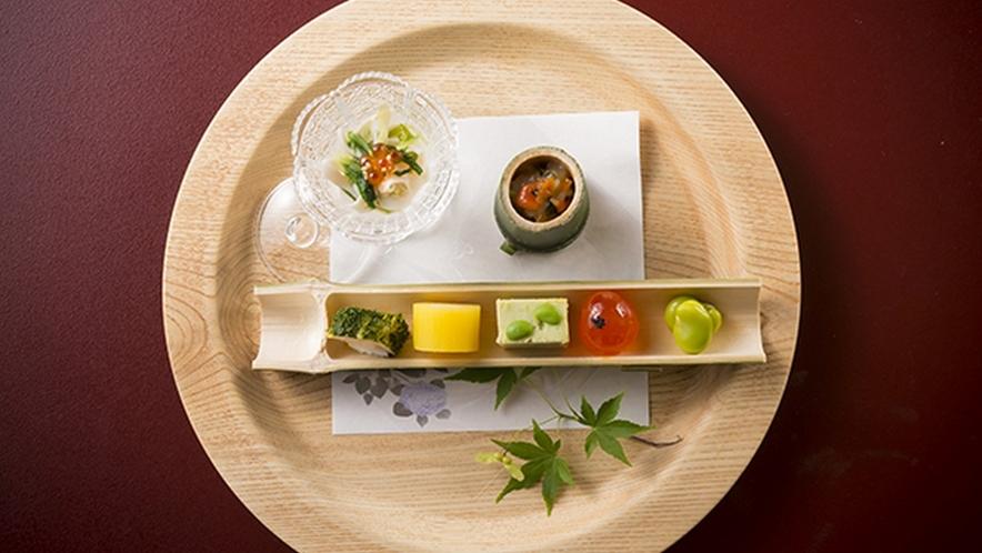 特撰会席「季鈴」のお料理一例