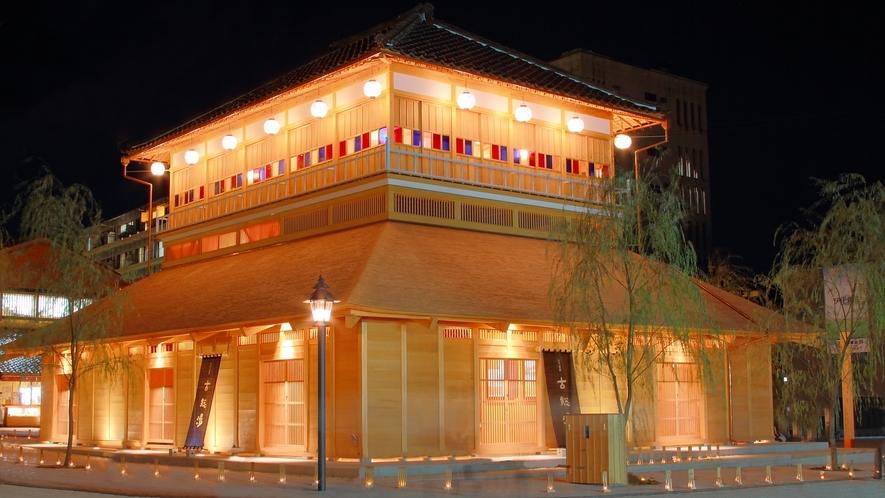 山代温泉古総湯 ステンドグラスがすてきな総湯です