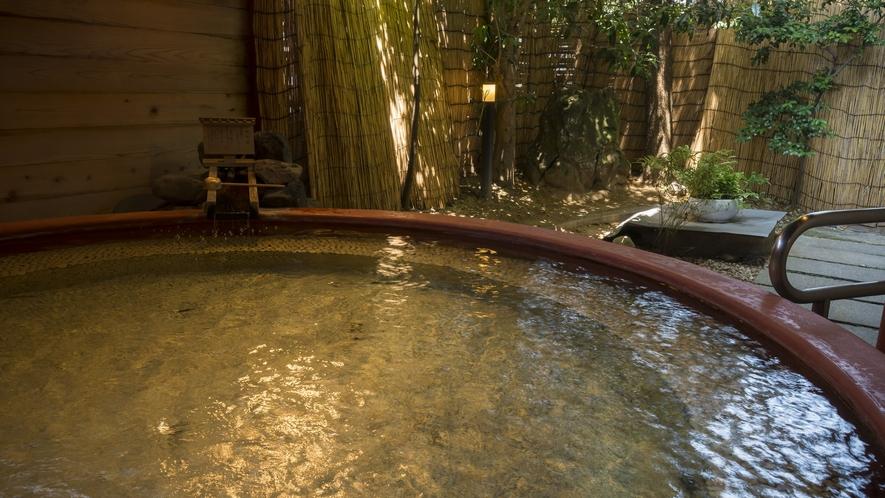 直径3.6mの露天風呂をぜひお試しください