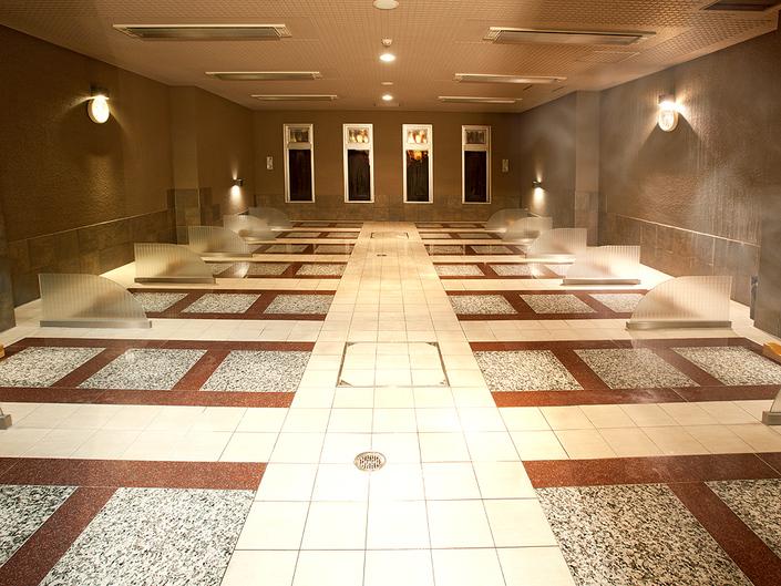>【岩盤浴/稀石の癒】稀石洞/温泉熱で温める本格的な施設 女性専用と男女共用の2か所完備