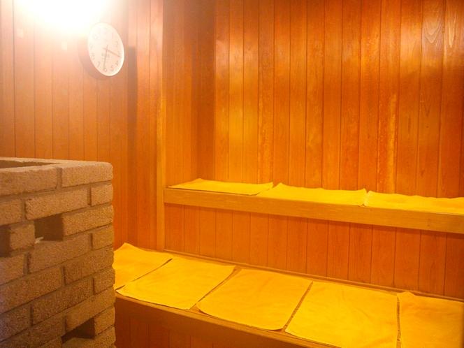 >【14F温泉展望浴場】サウナ