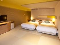 >【コンフォートフロア】スタイリッシュ・ベッド和室/お部屋の一例