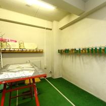 スキー&ボード♪乾燥室があって安心です!