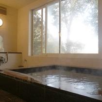 *【大浴場】温泉ではございませんが、広い湯船につかっての〜んびり♪