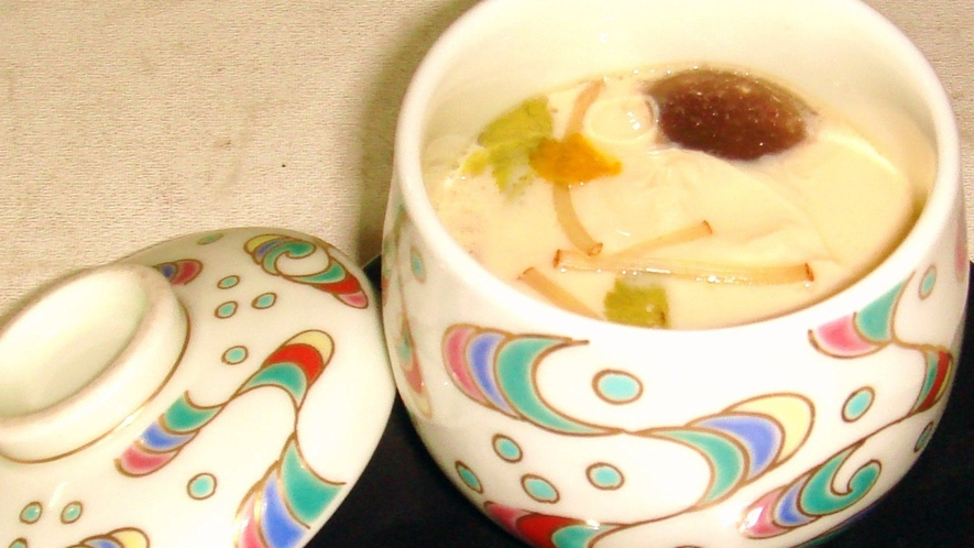 *【夕食一例】人気メニューの茶碗蒸し♪