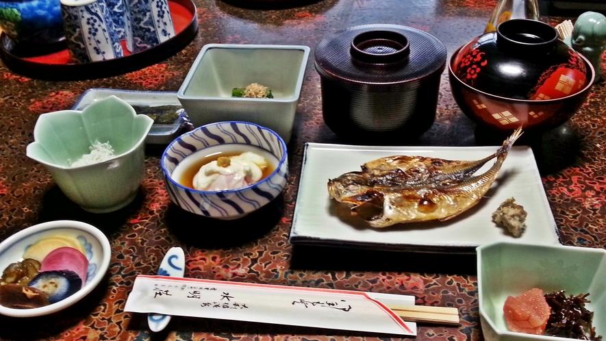 *【朝食一例】朝からしっかり♪エネルギー補給!