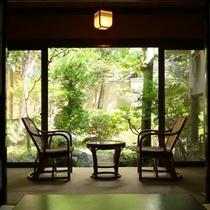 ■【温泉付き客室】縁側