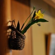 ◇心なごむ生花