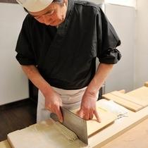 ◇蕎麦打ち工程10