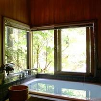 ◇和室8畳青石風呂付き