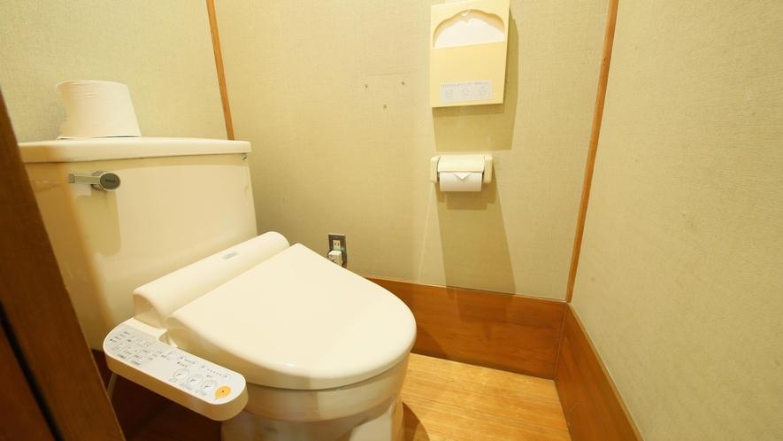 【和室8畳+広縁】温泉内風呂付 トイレ