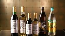 【夕食お飲み物】信州産ワインや焼酎もございます。