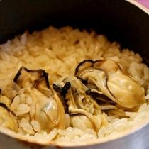 牡蠣の旨味がたっぷりと染み込んだご飯は絶品です!