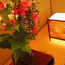 ☆客室_和室11畳_装飾