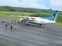 楽しい【ヨロン島旅行】も終わり・・・ 飛行機へ・・・