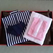 ◆浴衣・バスタオル・タオル・歯ブラシをご用意しております