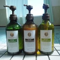 ◆女子大浴場。DHCのシャンプーをご用意しております。