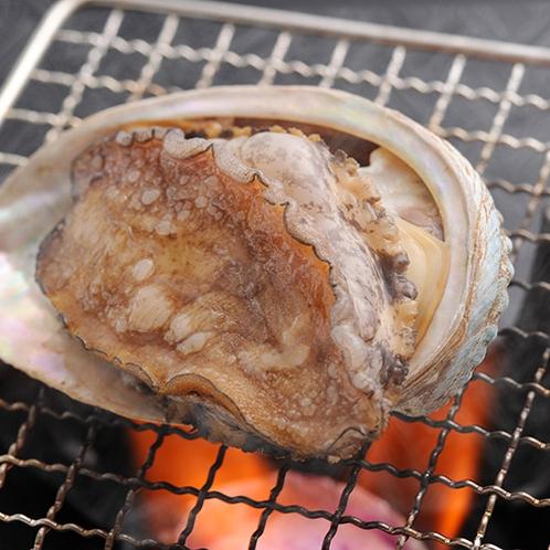 【別注料理】長崎県産あわびの網焼き