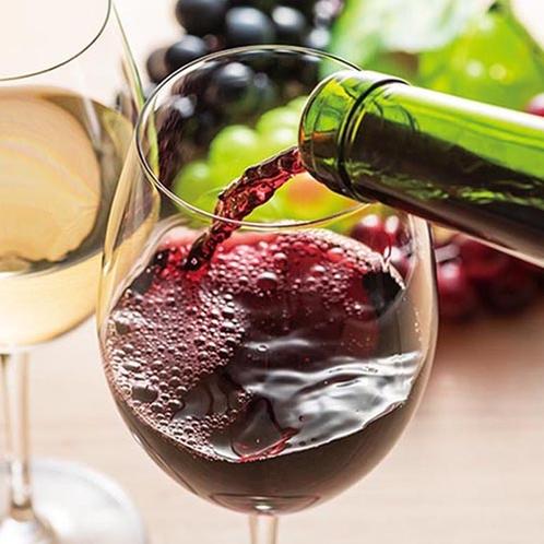 セレクションワイン(赤・白)(夕食時無料)
