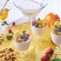 朝食イメージ(ヨーグルト)