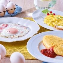 朝食イメージ(卵料理)