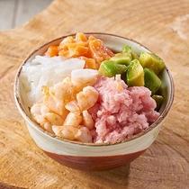 朝食イメージ」(のっけ丼)