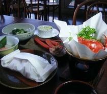 魚介の包み焼夕食5x5
