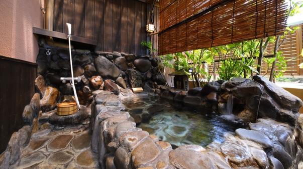 ■禁煙■源泉寝湯露天&石風呂内湯、川辺の見晴らしの和室