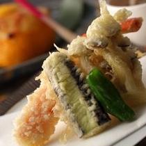 季節の素材の天ぷら