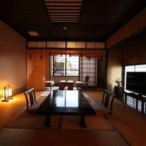 藤壺の間(寝湯露天&石風呂内湯付き和室)