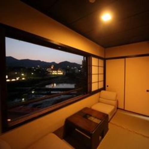 客室(源泉石風呂内湯付き和室)
