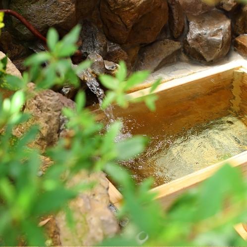 檜の露天風呂付き客室 風呂