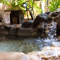 石風呂と寝湯付き客室 寝湯1