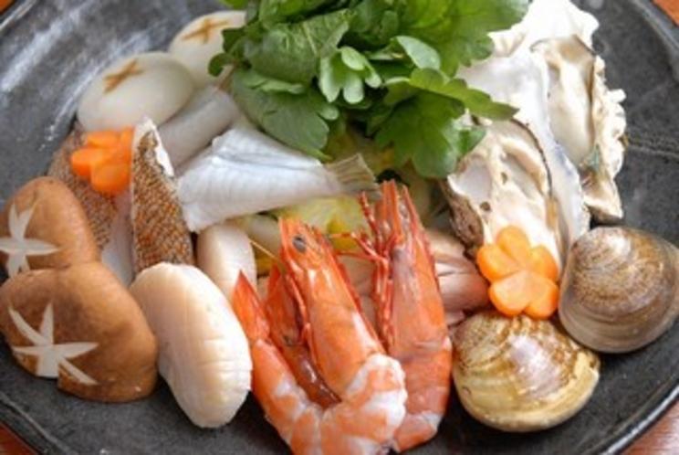 玄海の海鮮鍋