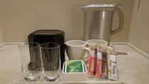 客室備品 お茶セット・電気ケトル
