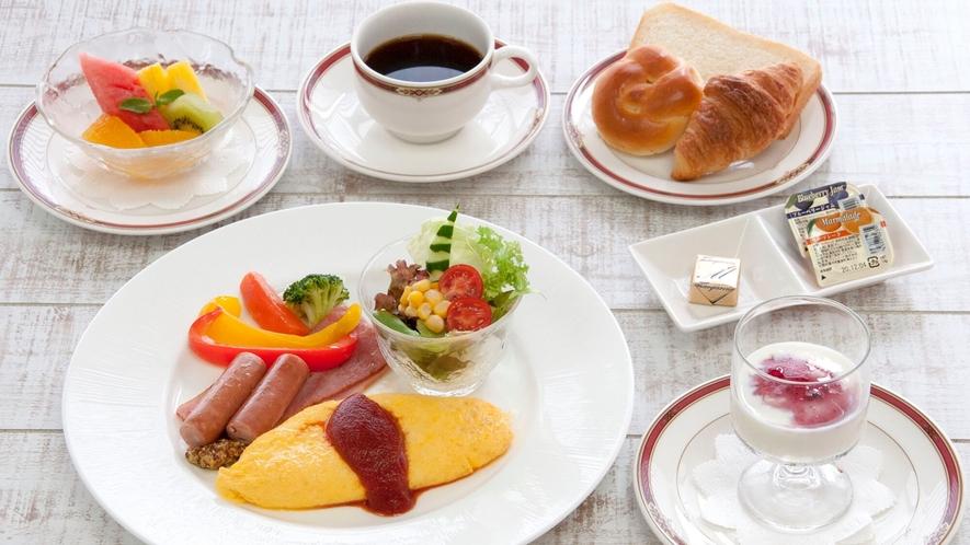 【朝食】洋食セットメニュー(※イメージ)