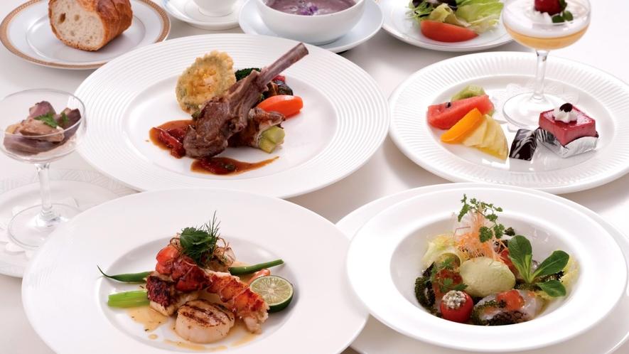 西洋四季料理「サフラン」メニュー一例