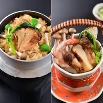 秋の味覚の王様【松茸料理 2種】