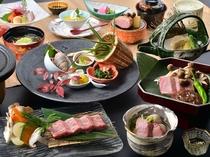 信州で一番人気のブランド食材 【信州牛料理 3種】を味わう会席料理