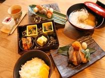 朝食サンプル(和食)